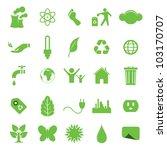 vector illustration of ecologic ... | Shutterstock .eps vector #103170707