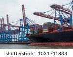 hamburg  germany  6 october... | Shutterstock . vector #1031711833