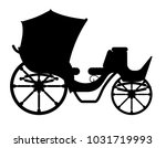 carriage for transportation of... | Shutterstock .eps vector #1031719993