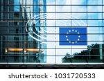 brussels  belgium   august 5 ... | Shutterstock . vector #1031720533