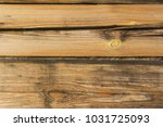 wooden panel with cracked... | Shutterstock . vector #1031725093
