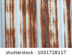 rust on zinc | Shutterstock . vector #1031728117