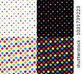 four different seamless...   Shutterstock .eps vector #1031739223