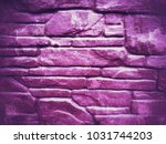 dark purple background stones... | Shutterstock . vector #1031744203