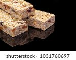granola bar with fruits and nuts | Shutterstock . vector #1031760697