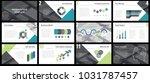 business presentation templates....   Shutterstock .eps vector #1031787457