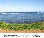 hawaiian landscapes  kauai ...   Shutterstock . vector #1031788507