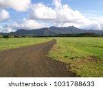 hawaiian landscapes  kauai ...   Shutterstock . vector #1031788633