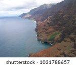 hawaiian landscapes  kauai ...   Shutterstock . vector #1031788657