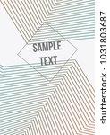minimum geometric coverage.... | Shutterstock .eps vector #1031803687