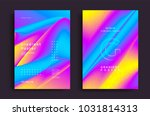creative design poster with... | Shutterstock .eps vector #1031814313