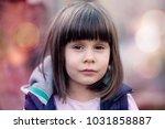 close up portrait of a... | Shutterstock . vector #1031858887