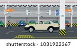 the driver is looking for... | Shutterstock .eps vector #1031922367