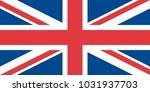 flag of the united kingdom   Shutterstock .eps vector #1031937703