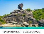 similan islands  phuket ...   Shutterstock . vector #1031939923