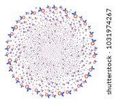 care award centrifugal burst.... | Shutterstock .eps vector #1031974267