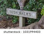 bush walk signage  in local... | Shutterstock . vector #1031994403