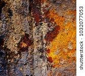 metal background of natural...   Shutterstock . vector #1032077053