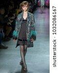 new york  ny   february 12 ...   Shutterstock . vector #1032086167