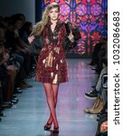new york  ny   february 12 ...   Shutterstock . vector #1032086683