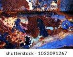 metal background of natural...   Shutterstock . vector #1032091267