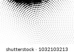 abstract monochrome halftone... | Shutterstock .eps vector #1032103213