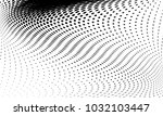 abstract monochrome halftone... | Shutterstock .eps vector #1032103447