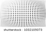 abstract monochrome halftone... | Shutterstock .eps vector #1032105073