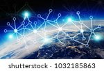 connections system and global... | Shutterstock . vector #1032185863