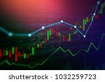 stock market or forex trading... | Shutterstock . vector #1032259723