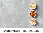 assortment of nuts  cashew ... | Shutterstock . vector #1032268687