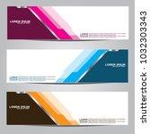 vector design banner...   Shutterstock .eps vector #1032303343