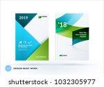 material design of business... | Shutterstock .eps vector #1032305977