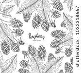 hand drawn illustration of... | Shutterstock .eps vector #1032318667