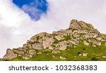 view at stara planina mountain... | Shutterstock . vector #1032368383