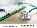 health examination process | Shutterstock . vector #1032372697
