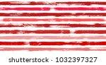 vintage watercolor brush... | Shutterstock .eps vector #1032397327