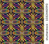 colorful abstract mosaic vector ... | Shutterstock .eps vector #1032440593