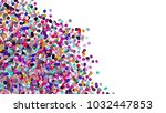 beads background. fashion... | Shutterstock . vector #1032447853