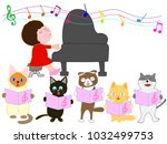 a cat's concert. cats are...