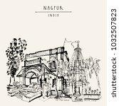 nagpur  maharashtra  india.... | Shutterstock .eps vector #1032507823