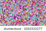 beads background. fashion... | Shutterstock . vector #1032522277