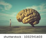 the young and conceptual image... | Shutterstock . vector #1032541603