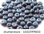 natural looking blueberries on...   Shutterstock . vector #1032599833