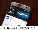 m application in google play... | Shutterstock . vector #1032705757