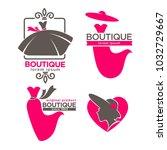 dress boutique or fashion dress ... | Shutterstock .eps vector #1032729667