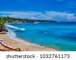 dreamland beach south kuta....   Shutterstock . vector #1032761173