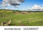 australian farmland green hills | Shutterstock . vector #103280057