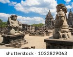 Small photo of The Candi Sewu temple compound in Java Island,Indonesia