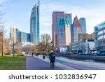 the hague  the netherlands  ...   Shutterstock . vector #1032836947